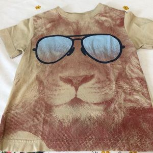 Other - Boys tee, lion wearing shades.  Size 4